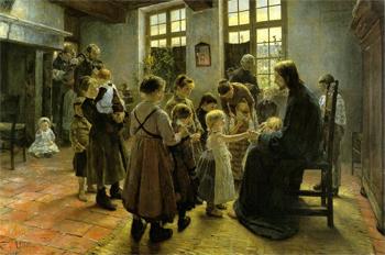Gemälde Fritz von Uhde